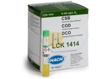 CUBETA TEST DQO 5 a 60 mg/l de O2 HACH