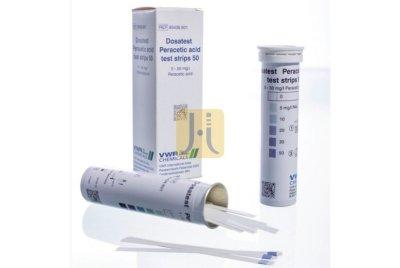TIRAS ACIDO PERACETICO Dosatest® rango 0 - 50 mg/l