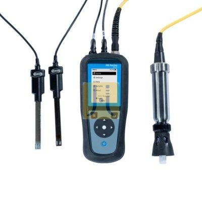 Medidor portátil de oxígeno disuelto HQ1130, con electrodo robusto de oxígeno disuelto, cable de 5 m